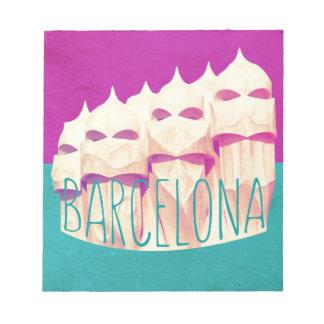 Paraíso de Barcelona Gaudi Bloc De Papel