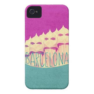 Paraíso de Barcelona Gaudi iPhone 4 Case-Mate Fundas
