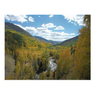 Paraíso de Colorado Tarjeta Postal
