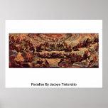Paraíso de Jacopo Tintoretto Posters