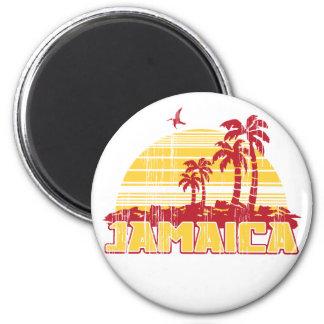 Paraíso de Jamaica Imán Redondo 5 Cm