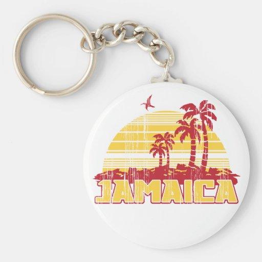 Paraíso de Jamaica Llaveros Personalizados