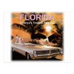 Paraíso de la Florida Tarjeta Postal