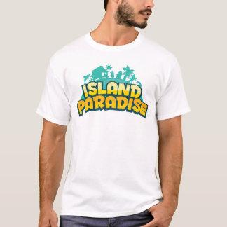 Paraíso de la isla - camiseta para hombre