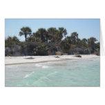 Paraíso de la isla tarjetas