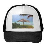 Paraíso de la playa de Bahama Gorra