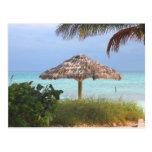 Paraíso de la playa de Bahama Tarjeta Postal