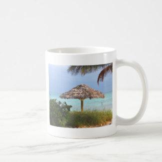 Paraíso de la playa de Bahama Tazas