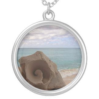Paraíso de la playa del Seashell Joyeria Personalizada