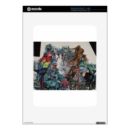 Paraíso de la selva tropical iPad skins