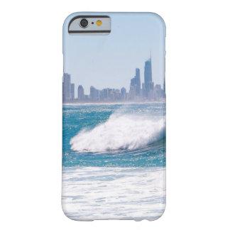 Paraíso de las personas que practica surf funda de iPhone 6 barely there