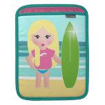 Paraíso de las personas que practica surf fundas para iPads