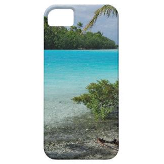 Paraíso de las vacaciones de la playa iPhone 5 Case-Mate protectores