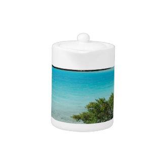 Paraíso de las vacaciones de la playa