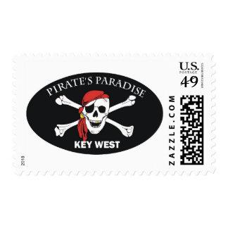 Paraíso de los piratas sello