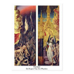 Paraíso de Rogier van der Weyden Postal