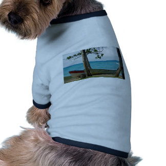paraíso del Caribe Camisetas Mascota
