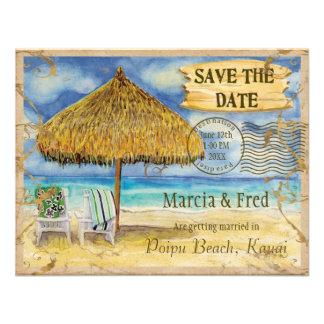 Paraíso del destino reserva tropical de la playa anuncios