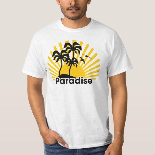 Paraíso del verano playeras