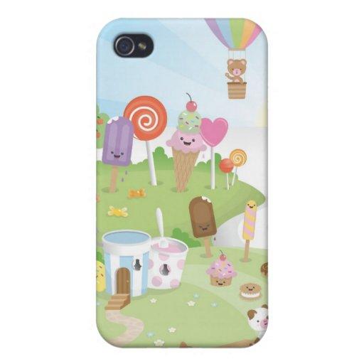 ¡Paraíso dulce del verano! iPhone 4 Cárcasa
