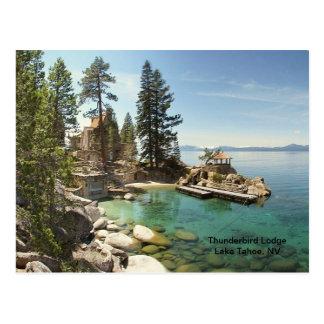 Paraíso @ el lago Tahoe, Nevada Tarjetas Postales