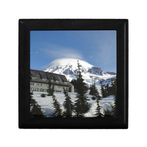 Paraíso en el Monte Rainier Cajas De Joyas