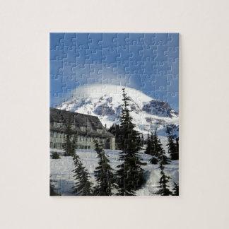 Paraíso en el Monte Rainier Puzzles Con Fotos