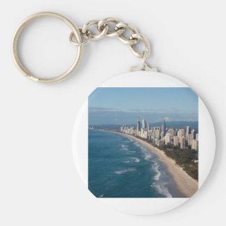 Paraíso Gold Coast Queensland Australia de las per Llavero Redondo Tipo Pin