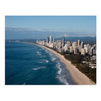 Paraíso Gold Coast Queensland Australia de las per Tarjetas Postales