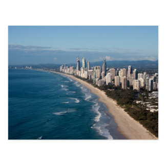 Paraíso Gold Coast Queensland Australia de las Tarjetas Postales