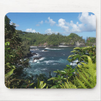 Paraíso hawaiano mouse pads