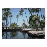Paraíso hawaiano tarjeta de felicitación