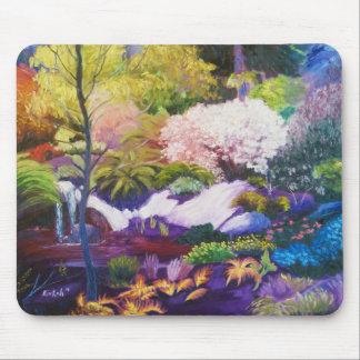 Paraíso Mousepad del jardín botánico de Seattle Tapete De Raton