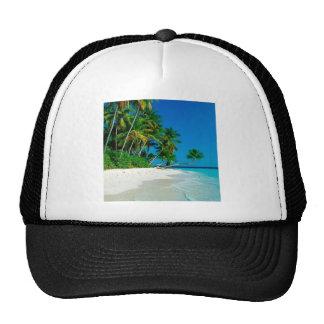 Paraíso perdido de la playa gorras