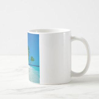 Paraíso perdido de la playa taza de café