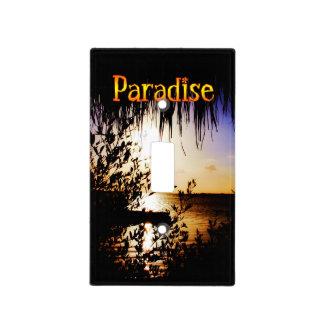 Paraíso Placa Para Interruptor