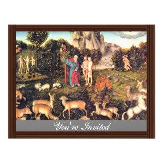 Paraíso por Cranach D Ä Lucas la mejor calidad Anuncio