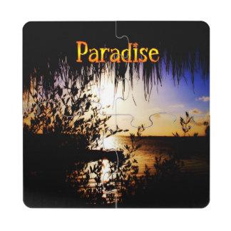 Paraíso Posavasos De Puzzle