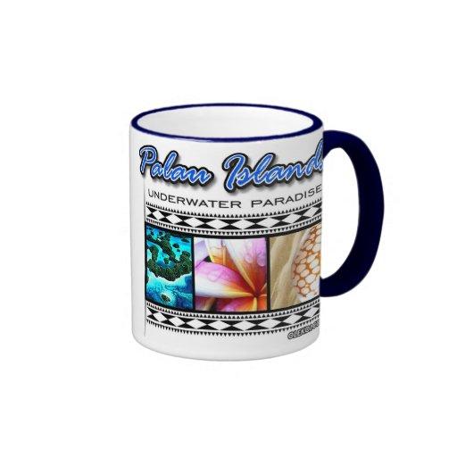 Paraíso subacuático de Palau Tazas De Café