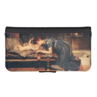 Paraíso terrestre de sir Lawrence Alma-Tadema Funda Tipo Billetera Para iPhone 5