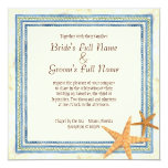 Paraíso tropical de la isla - invitación del boda invitación 13,3 cm x 13,3cm