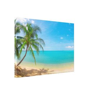 Paraíso tropical de PixDezines Lienzo Envuelto Para Galerias