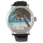 Paraíso tropical - día soleado en la playa reloj de mano