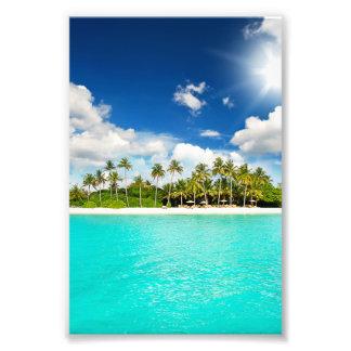 Paraíso tropical impresiones fotográficas