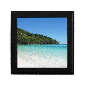 paraíso tropical joyero cuadrado pequeño