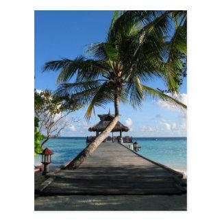 Paraíso tropical - mejor 12 de diciembre de 2007 tarjetas postales