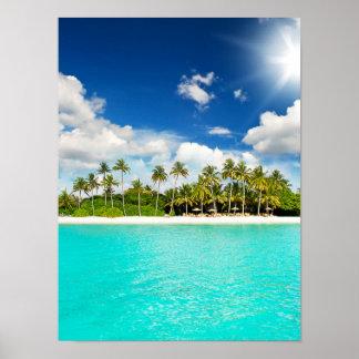 Paraíso tropical poster