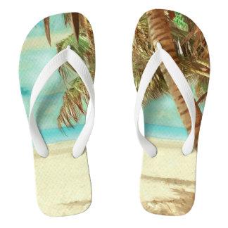 Paraíso tropical/playa del vintage de PixDezines