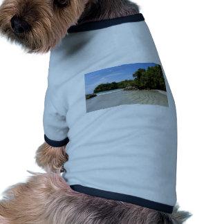 paraíso tropical camisas de perritos