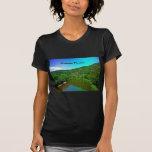 Paraíso Virginia Occidental de la montaña Camiseta